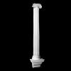 Полуколонна Европласт Фасадная Лепнина 4.10.204 Ш393хВ2087хГ195 мм