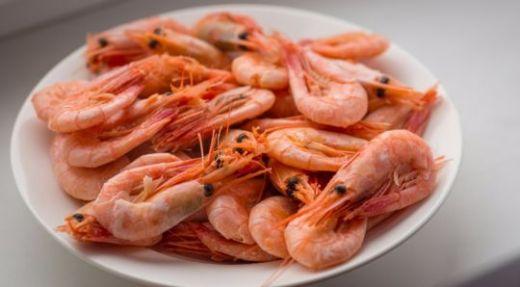 Креветки свежие морские мелкие 1 кг