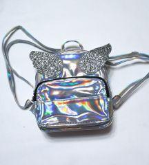Рюкзак лазерный неон «Крылатый единорог»