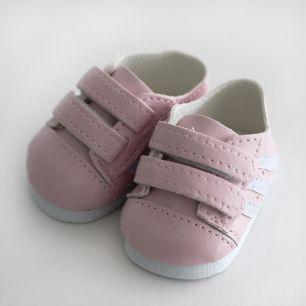 Обувь для кукол 6,5 см - кроссовки розовые