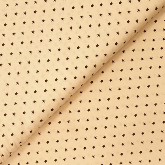 Ткань 50х40 Звезды на персиковом