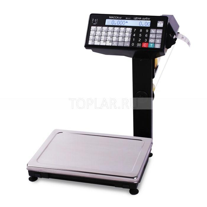 Весы с печатью этикеток МАССА ВПМ_Ф1