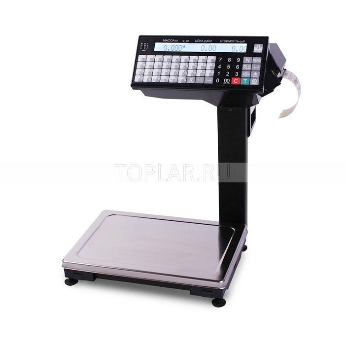 Весы с печатью этикеток МАССА ВПМ_Т