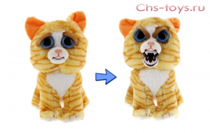 Игрушка Feisty Pets рыжий кот