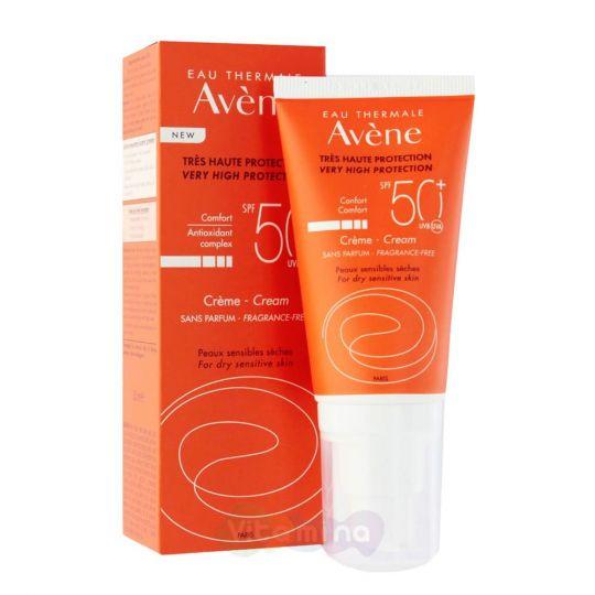 Avene Крем солнцезащитный SPF50+