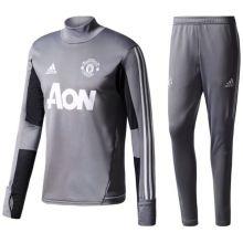 Футбольный тренировочный костюм Манчестер Юнайтед  серый