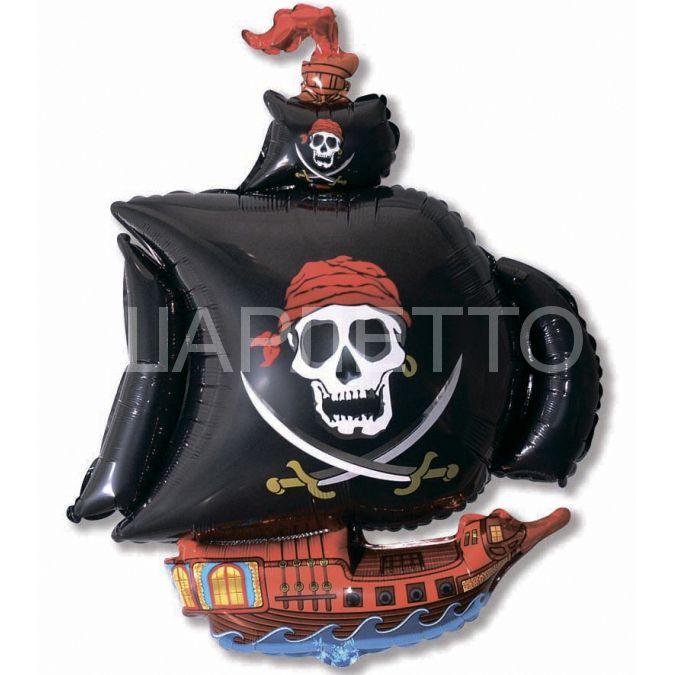 "Шар Фигура ""Пиратский Корабль"""