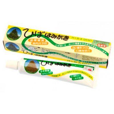 """""""Fudo Kagaku"""" """"Hiba Dent"""" Зубная паста для чувствительных зубов с растительными экстрактами 80г"""