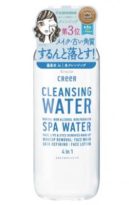 Мицеллярная вода для удаления макияжа 4 в 1 Kracie Creer, 330 мл