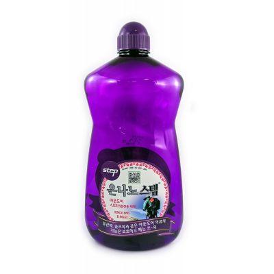 NANO SILVER STEP Detergent Жидкое средство для стирки с серебром (для верхней и спортивной одежды)1100ml