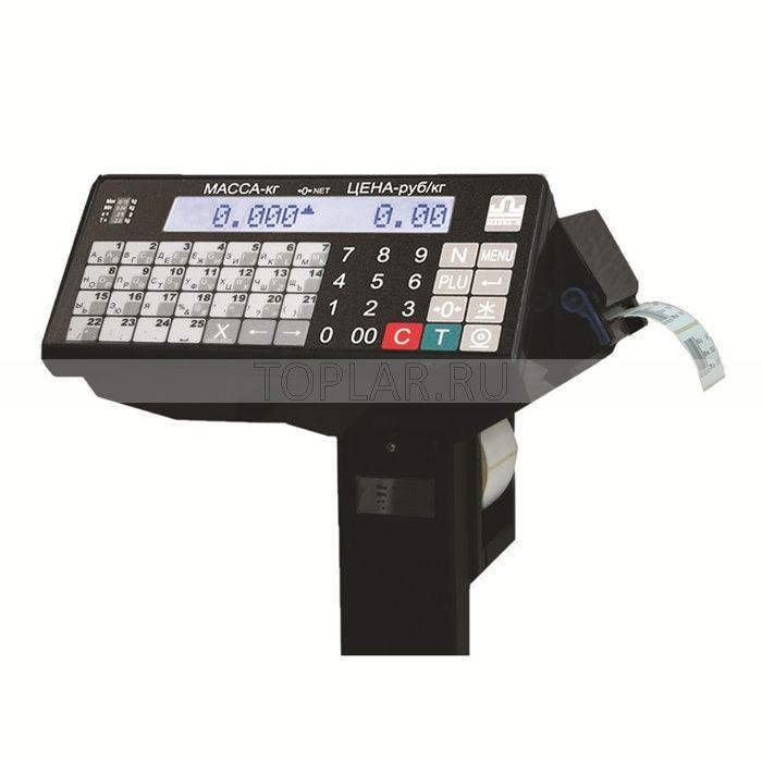 Весовой терминал с печатью этикеток МАССА P/TB