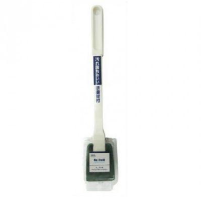 OHE Губка для туалета жесткая (ручка 30 см)