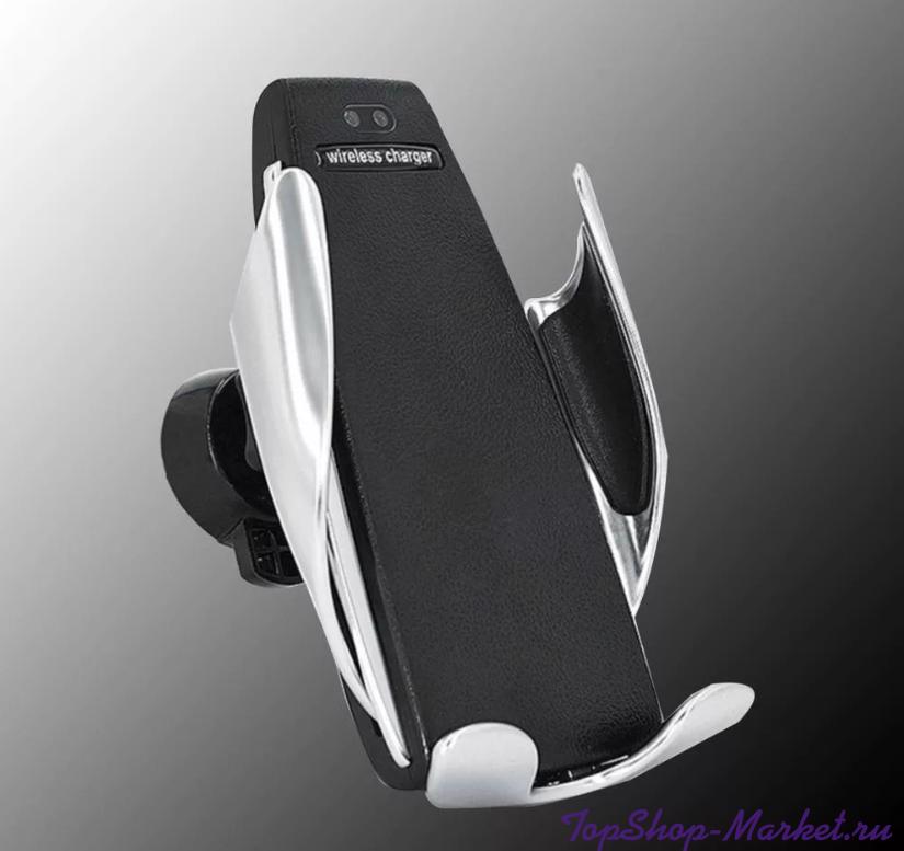 Беспроводная автомобильная зарядка-держатель с сенсорным датчиком Penguin Smart Sen Sor S5