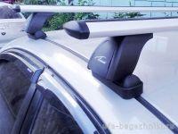 Багажник на крышу BMW 3-serie E46, Lux, крыловидные дуги