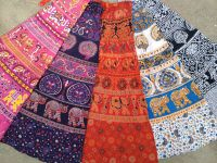 Длинные индийские юбки с запахом. Длина в пол. Купить в СПб, интернет-магазин, шоурум.
