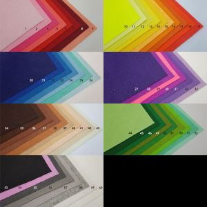 Фетровые пяточки 20мм, цвет № 09