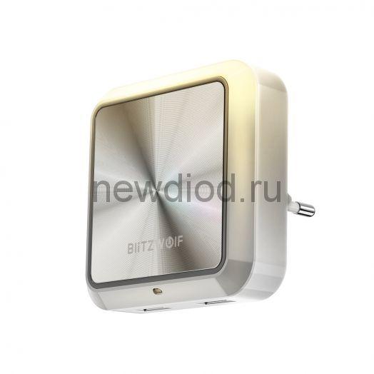Светодиодный сенсорный ночник в розетку с USB BlitzWolf®