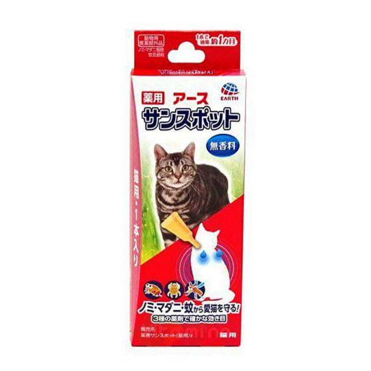 Earth Biochemical Капли для кошек против клещей, блох и комаров, 0,8 мл