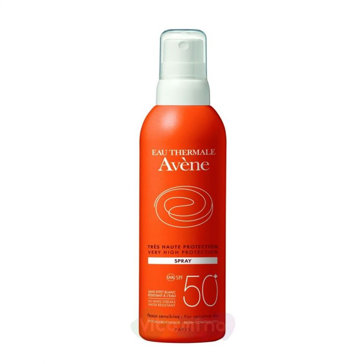 Avene Спрей солнцезащитный SPF50+