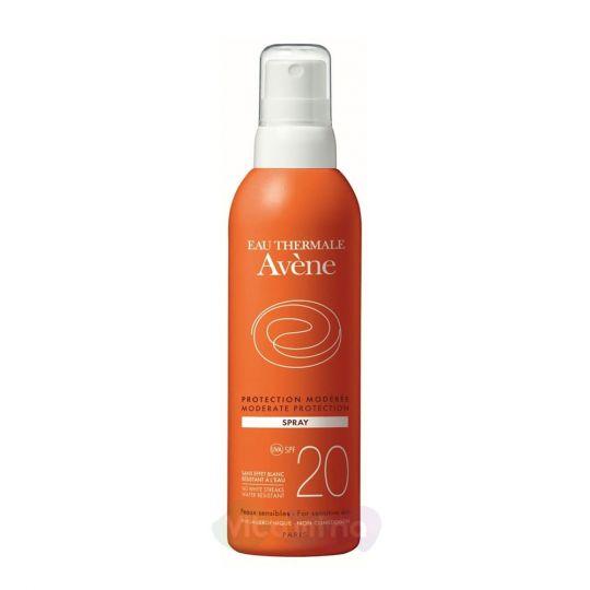 Avene Спрей солнцезащитный SPF20+