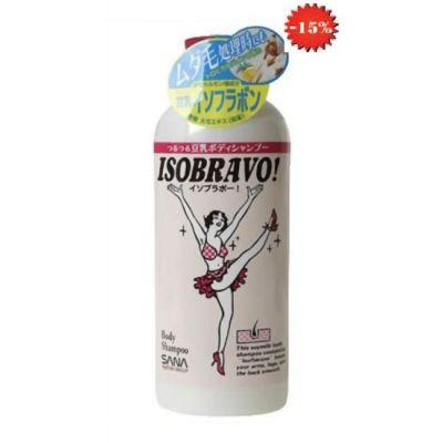 Sano Isobravo Шампунь для тела с соевым молочком, 300 ml