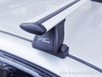 Багажник на крышу BMW 3-serie E91, Lux, крыловидные дуги