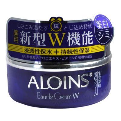 ALOINS EAUDE CREAM W Увлажняющий крем для лица и  тела с экстрактом алоэ и плацентой, 120g