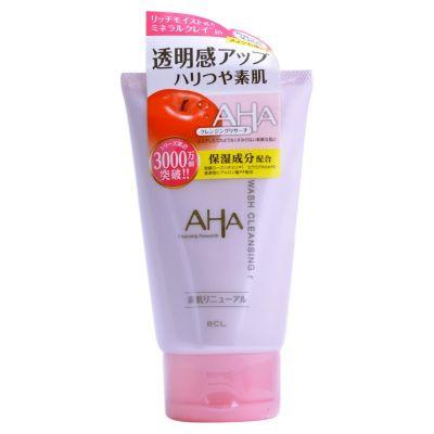 B&C Lab AHA WASH CLEANSING Пена-скраб для лица (с фруктовыми кислотами, минеральной глиной и увл. компонентами), 120g