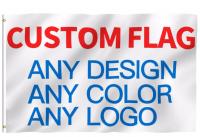 Двусторонний флаг с Вашим персональным рисунком (30x45, 60х90, 150х90 см)