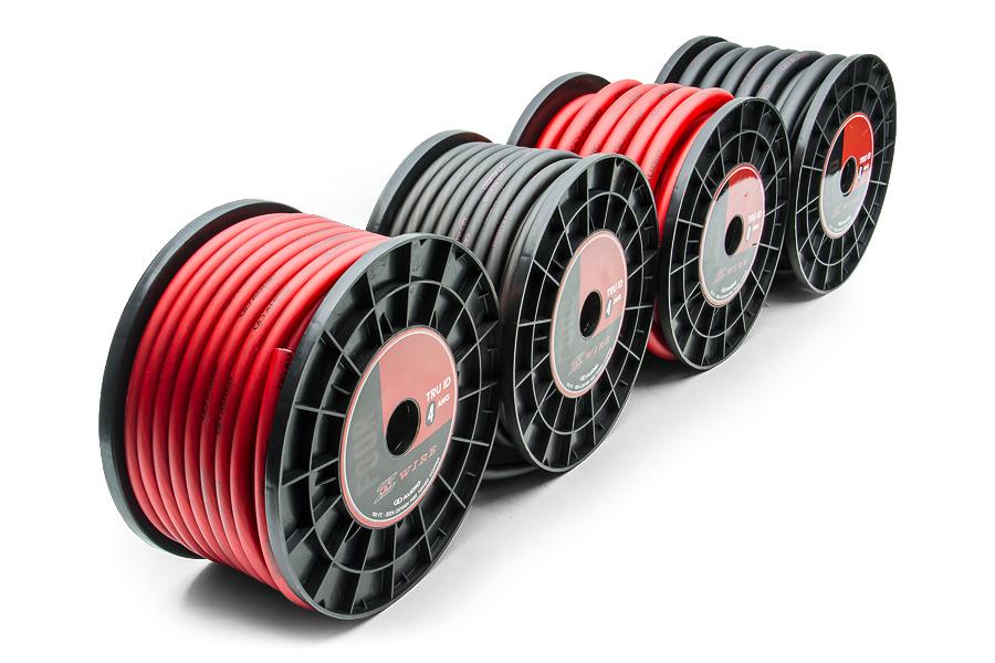 Силовой кабель черный DD Z-wire 0Ga BLACK