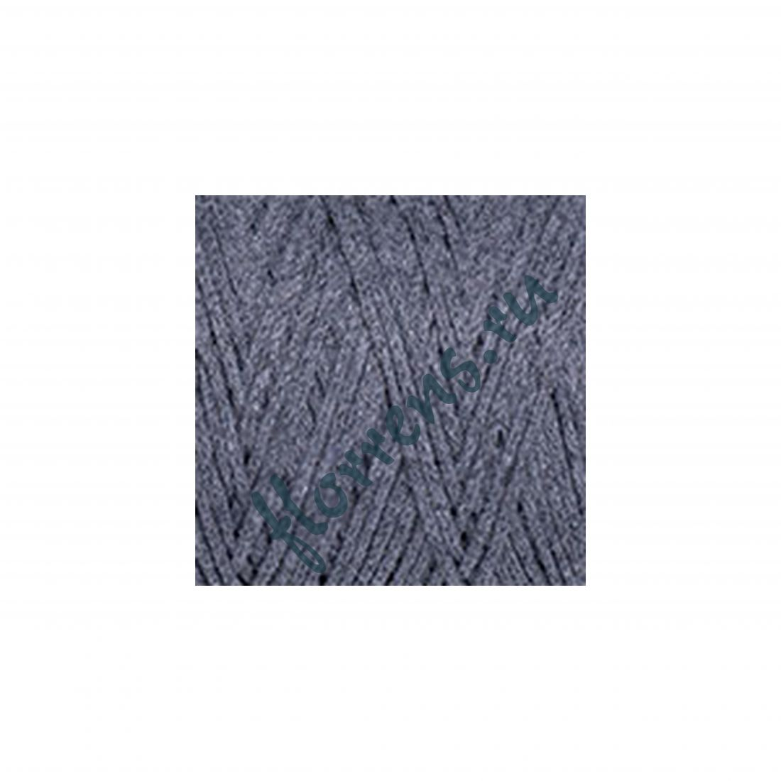 Пряжа Yarnart Macrame cotton / 787 т. серый меланж