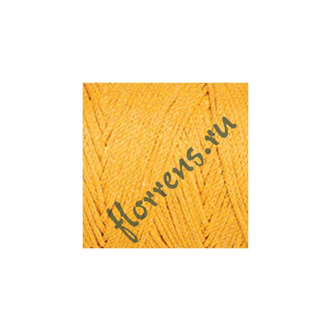 Пряжа Yarnart Macrame cotton / 794 желтый