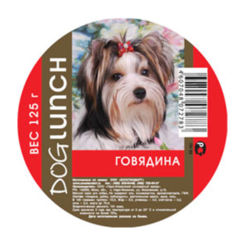 DOG LUNCH (ДОГ ЛАНЧ) Крем-суфле