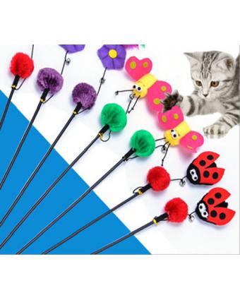 Дразнилка для кошек Hunter Smart Бабочка или Цветок или Божья коровка