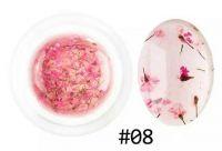 Гель с сухоцветами №08, 5 грамм