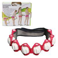 Роликовый ручной массажер-лента Massage Rope HX-8866, Цвет: Красный