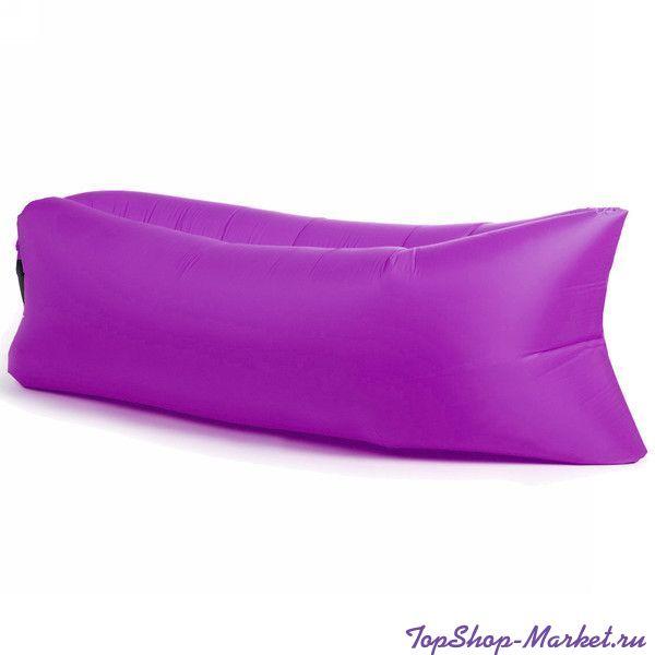 Надувной матрас гамак LAMZAC (Ламзак) Диван Биван, Цвет: Фиолетовый