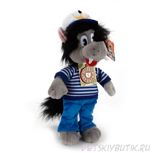 Мягкая игрушка - Волк из мультфильма «Ну, Погоди!», 25 см
