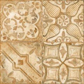 Декор Novabell Materia Decoro Patch Mix Warm Rosso 30×30