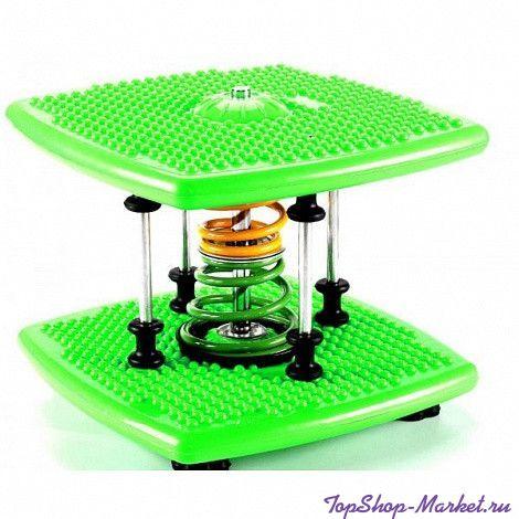 Степпер твист тонкая талия Twister Dance Machine, Цвет: Зелёный
