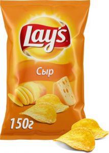 "Чипсы Lays ""Сыр"" 150г"