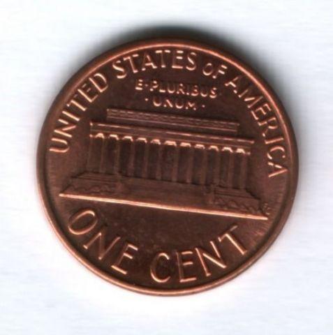 1 цент 1988 года США UNC