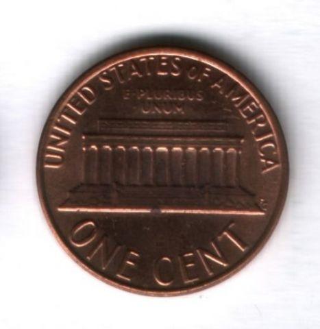 1 цент 1981 года США UNC