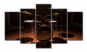 Модульная картина Барабаны