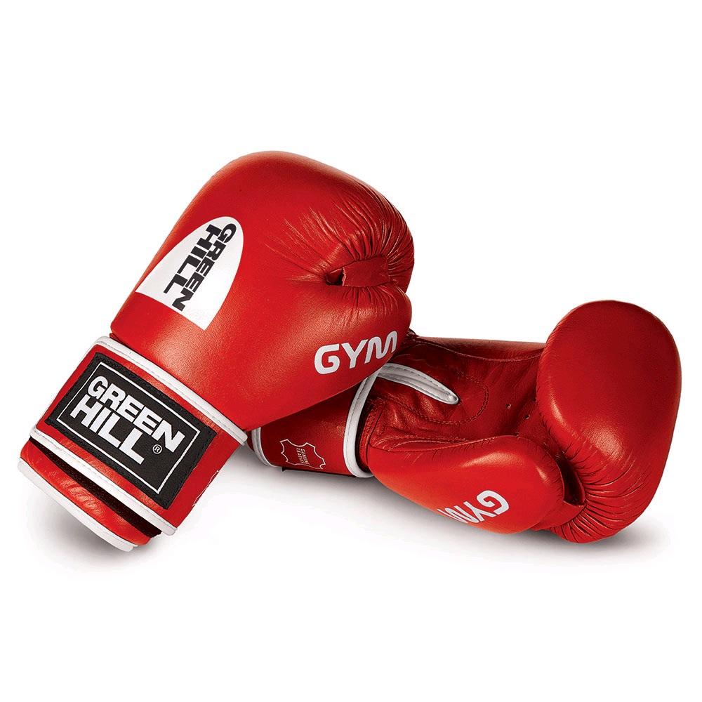 Перчатки боксерские GREEN HILL GYM BGG-2018 красные