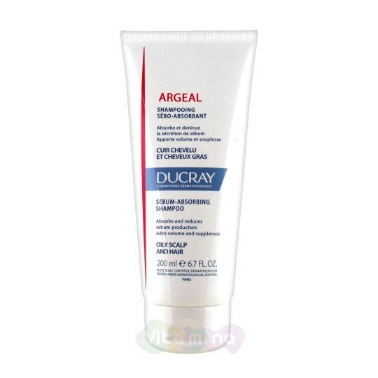 Ducray Argeal Шампунь для жирных волос, 200 мл