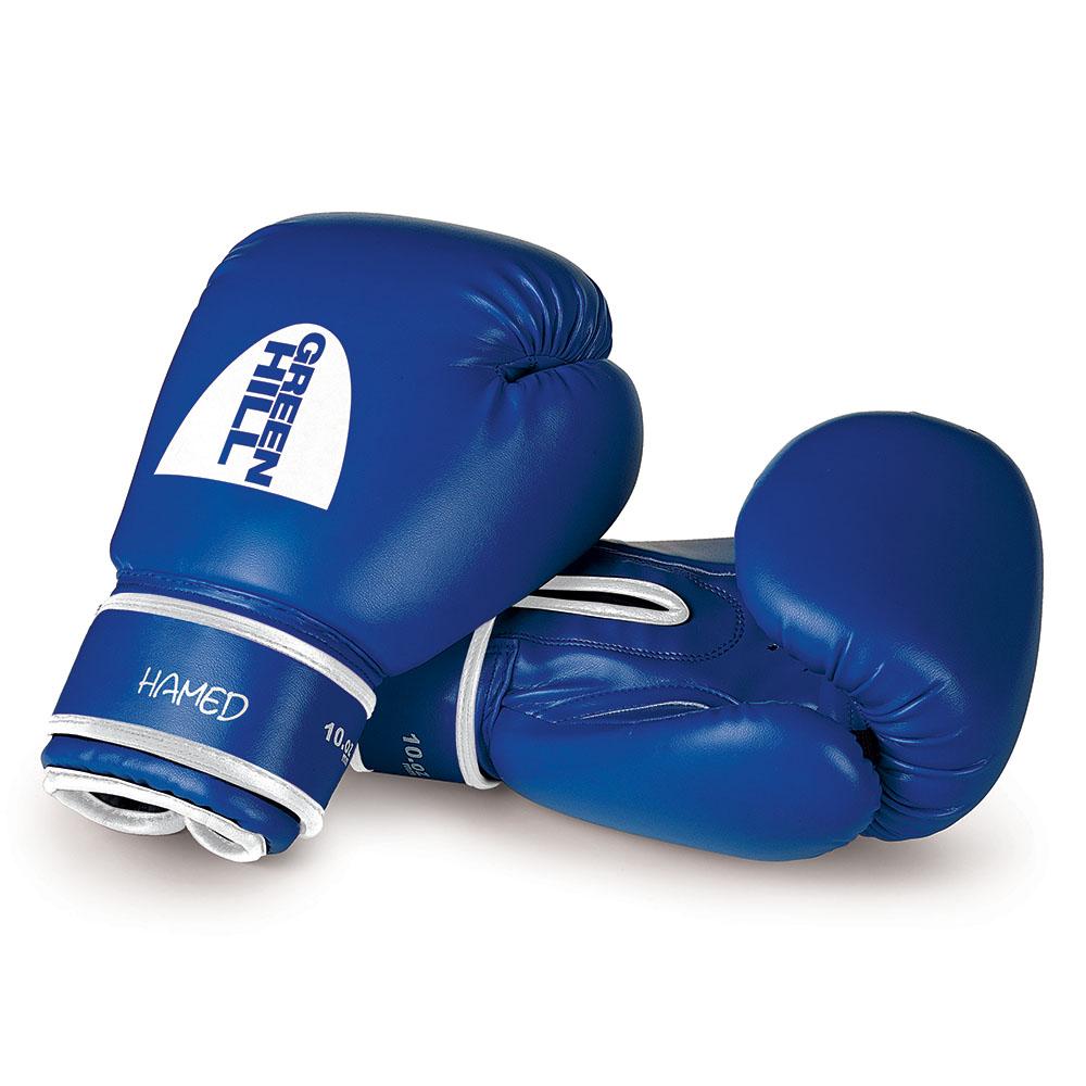 Перчатки боксерские GREEN HILL HAMED BGH-2036 синие