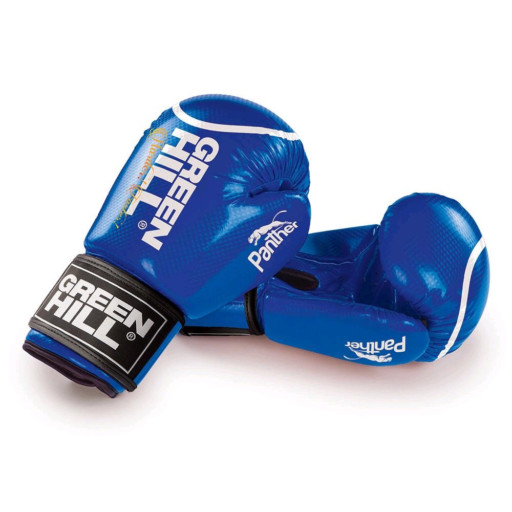 Перчатки боксерские GREEN HILL PANTHER BGP-2098 синие
