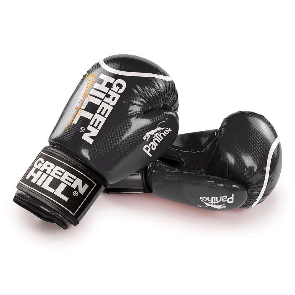 Перчатки боксерские GREEN HILL PANTHER BGP-2098 черные