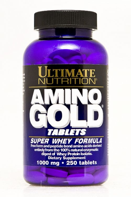 Amino Gold 1000 мг от Ultimate Nutrition, 250 табл